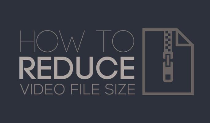 ridurre peso video